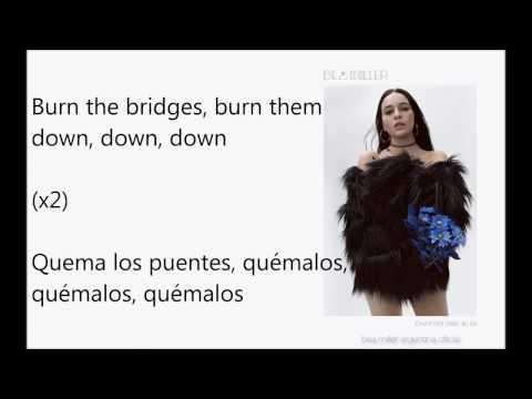 Bea Miller - burning bridges (Subtitulada Español e Inglés.)