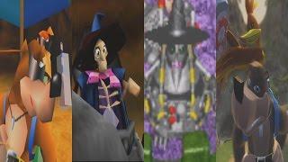 Evolution of All Final Bosses & Endings in Banjo Kazooie Games