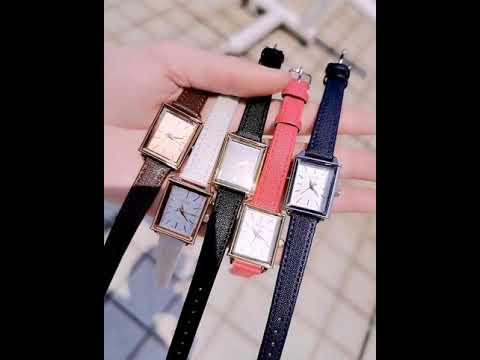 Đồng hồ nữ Julius Hàn Quốc JA-787 dây da