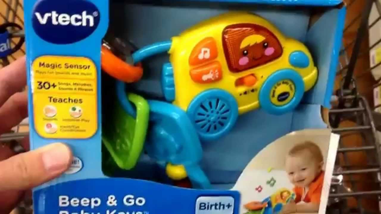 Vtech Beep Go Baby Keys Electronic Learning Baby Toy Toy