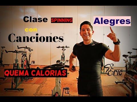 Clase Completa de Spinning Velocidad-Fuerza Quema Calorías