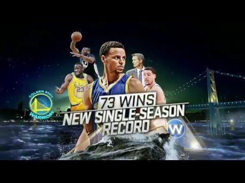 GOLDEN STATE WARRIORS 73-9  BEST HIGHLIGHTS 2015-16 HD