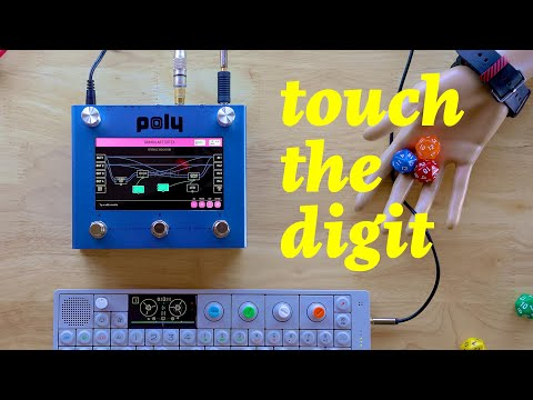Poly Digit Demo - A Quad Channel Touchscreen Effects Pedal