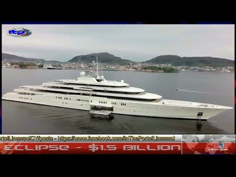 Eclipse – $1,500.000.000 - Mega Yacht - 164 M