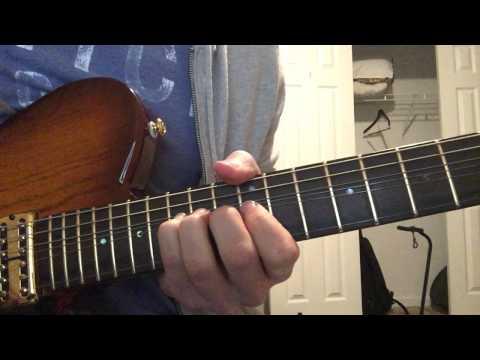 Hunter Hayes - Rainy Season Guitar Solo Cover