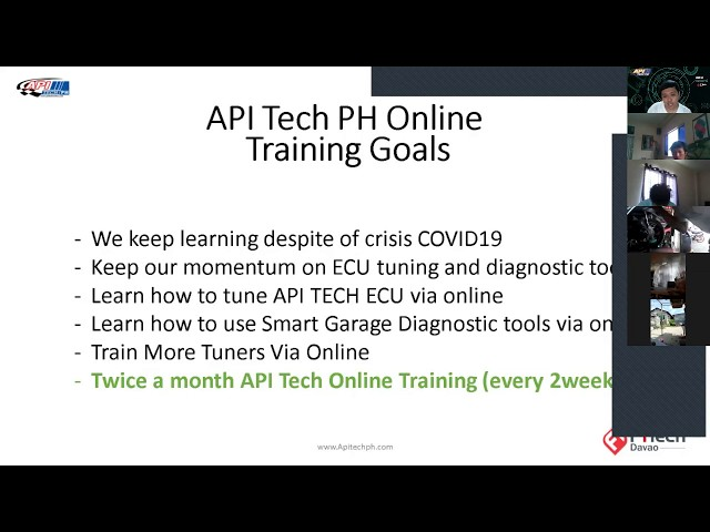 APITech PH Online training batch 8 recording