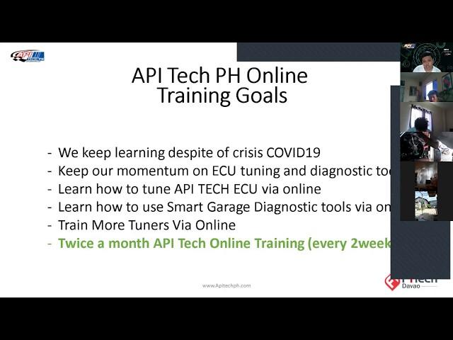 APITech PH Online training batch 8 recording