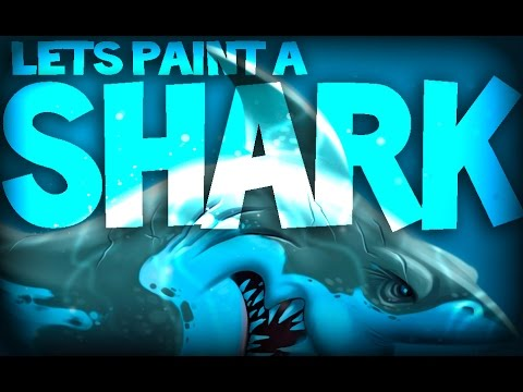 Let's Paint a Shark!