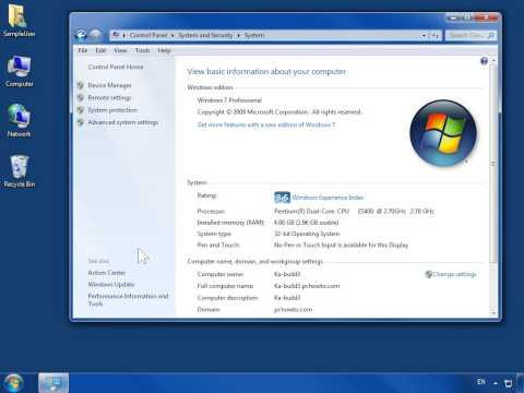 Windows 7 Check for Performance Issues