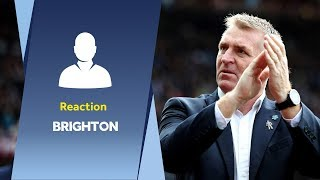 Post Brighton reaction | Dean Smith