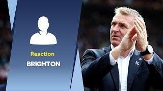 Post Brighton reaction | Dean Smith