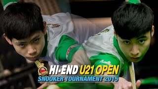 Hi-end U21 Open 2015 - Break 84 by He Guoqiang จากจีน