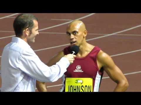 Sydney Track Classic 2010 : Patrick Johnson Interview.