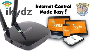 Control & Protect Your Children's Internet Usage with the iKydz WiFi System! : REVIEW