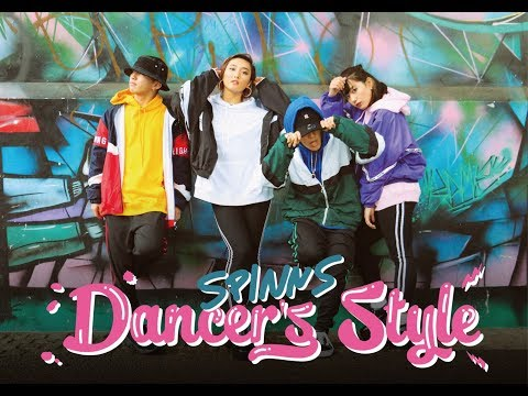 SPINNS Dancer's Style_KAITA×MIKU×KAZ×NANA