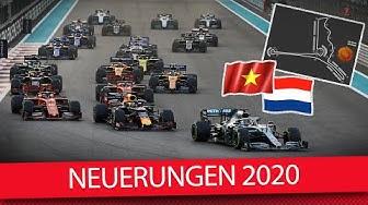 Alle Neuerungen in der Formel 1 2020 (News)