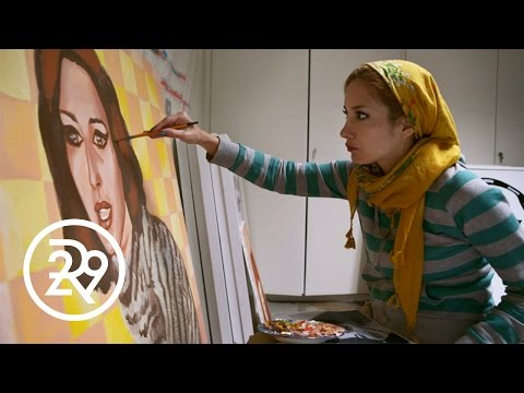 This Woman is Fighting Censorship in Tehran - With Art   Tehran Unveiled   Refinery29
