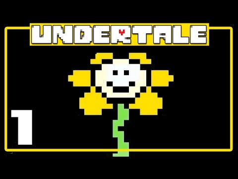 Let's Play Undertale [Pacifist Blind] Part 1 - The Ruins [Gameplay/Walkthrough]