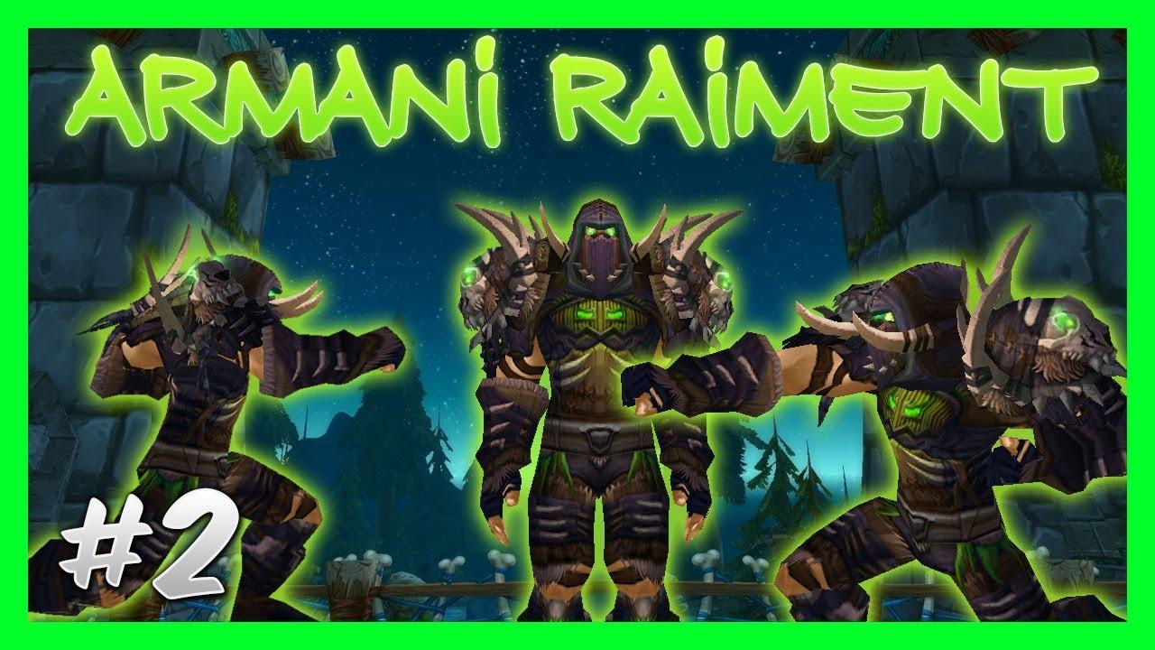 Leather Transmog Set #2: Armani Raiment!