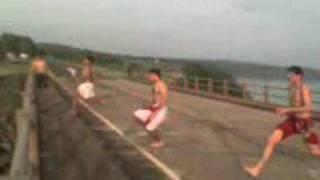 Baixar pulando da ponte, FARTURA / SP [juhh, gui  e PauLLinho]