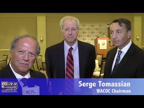 Serge Tomassian  wacoc   Amb  Dennis Ross  talk