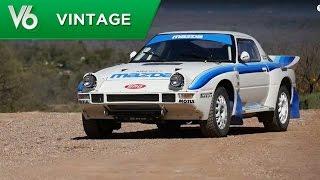 Anthony essaie une Mazda RX7 Groupe B - Les essais vintage de V6