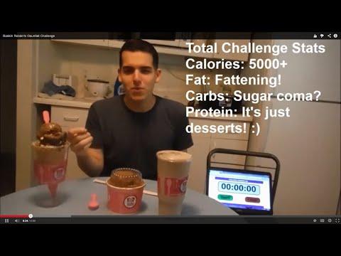 Baskin Robbin's Gauntlet Challenge! (5000+ calories)