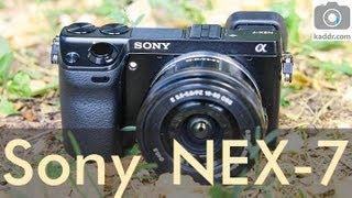 видео Обзор фотокамеры Sony Alpha NEX-6