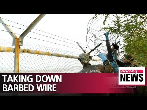 S. Korea to remove now-defunct barbed wire and military facilities by 2021