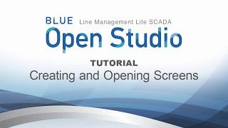 Video: BLUE Open Studio Tutorial #5: Creating and Opening Screens