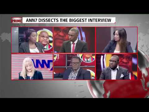 Analysts' reactions on pres Zuma #ANN7 exclusive interview