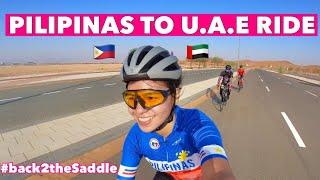 FIRST BIKE RIDE SA DESYERTO! | PILIPINAS TO UAE | by GAYE PARIS