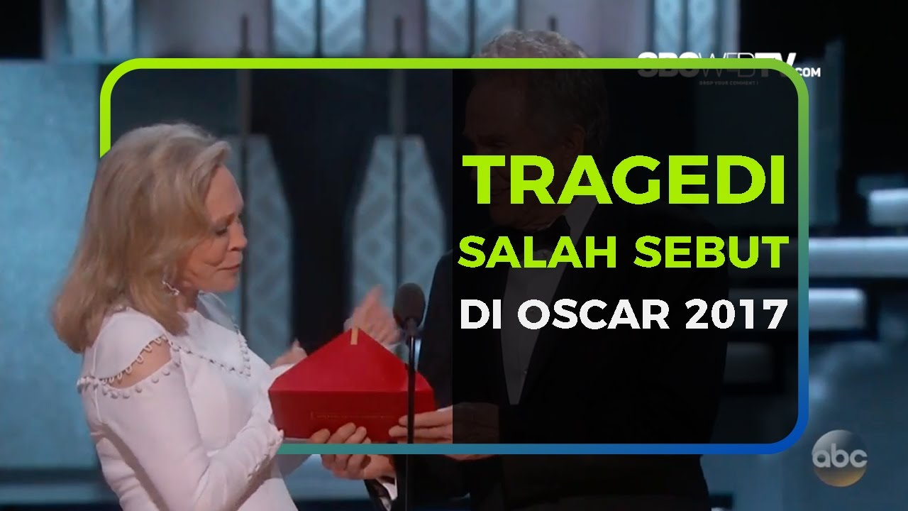 TRAGEDI SALAH SEBUT DI OSCAR 2017