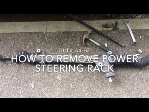 power steering diagram for 2003 audi a4 audi a4 b6 b7 how to remove power steering rack rhd  passat b5  audi a4 b6 b7 how to remove power
