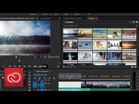 After Effects & Premiere Pro Integration W/ CC Libraries & Adobe Stock | Adobe Creative Cloud