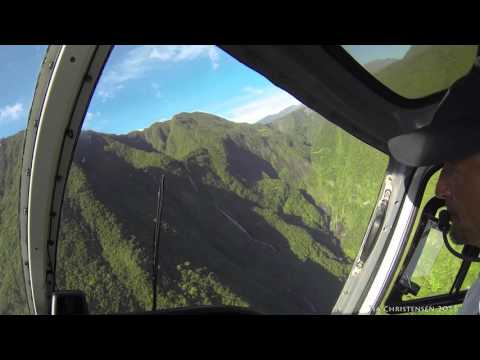 Reunion Island 2016 Februari Le must Helicopter Tour