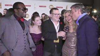 Moe Johnson, Sunny Lane, Anikka Albrite, and Mick Blue at XBiz Awards