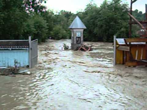 Inundatii Vanatori Jud Neamt 10.07.2014