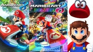 Mario Kart 8 Wii U, Deluxe, & Super Mario Odyssey Let's Play Part 3!
