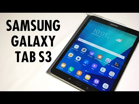 Samsung Galaxy Tab S3 first look at MWC 2017!