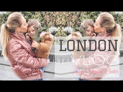 VLOG | LONDON WITH MY TODDLER | NATURAL HISTORY MUSEUM | Lucy Jessica Carter