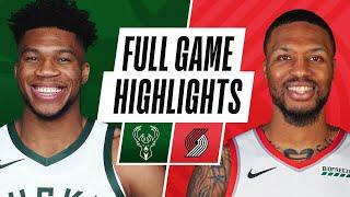 Game Recap: Bucks 127, Trail Blazers 109