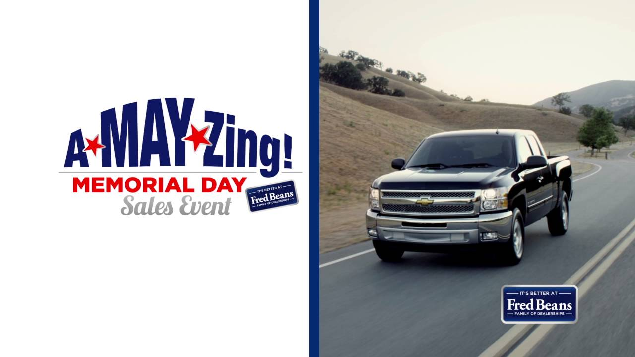 Fred Beans Chevy A May Zing Memorial Day Youtube