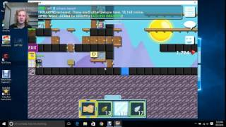 Growtopia - Farming tips, and world lock gaining tips