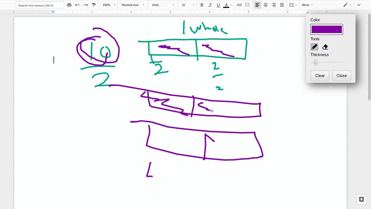how to draw pictures of improper fractions/ in-proper fractions