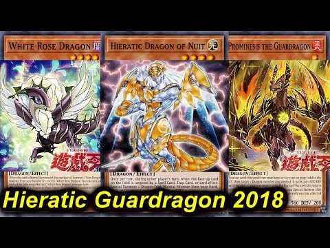 【YGOPRO】HIERATIC GUARDRAGON DECK 2018