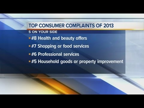 the-ohio-attorney-general's-top-10-list-of-consumer-complaints-in-2013