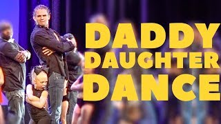 EVERLEIGH AND COLE PERFORM CUTEST DADDY DAUGHTER DANCE ON STAGE!!! thumbnail
