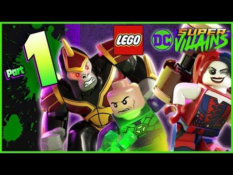 LEGO DC Super Villains Walkthrough Part 1 New Kid on the Block! Trouble in GOTHAM