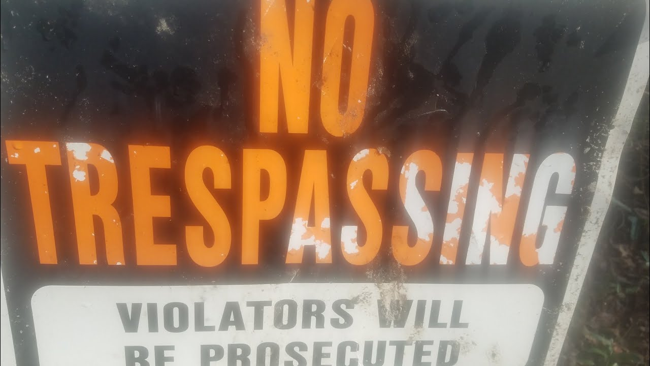 how to catch trespassers at night